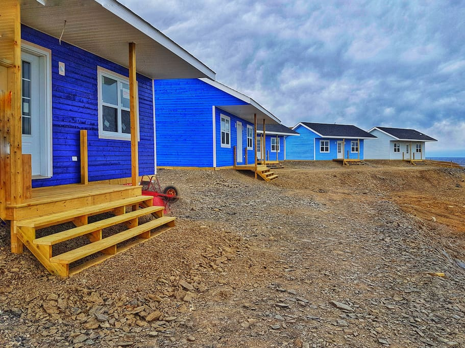 The Fish Sheds in Gros Morne