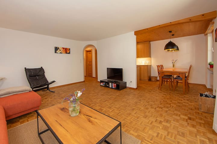 Apartment Sport-Lodge Klosters (Klosters), Apartment 2. 3-room apartment, max. 4 persons, 90m2