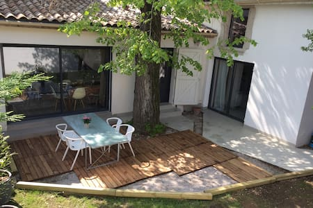 Petite maison centre, jardin, park - Romans-sur-Isère - Haus