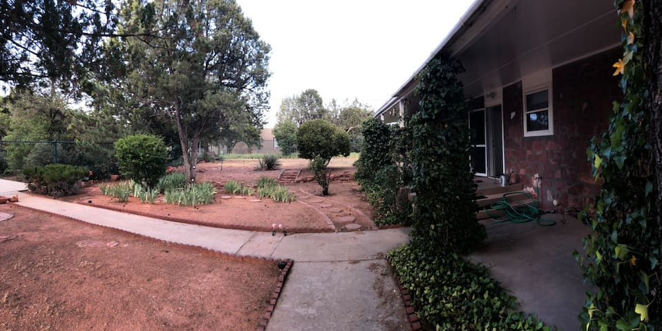 Front yard.