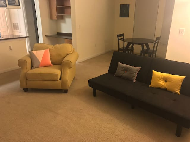Spacious 1 Bedroom, Huge Balcony - Houston  - Huoneisto