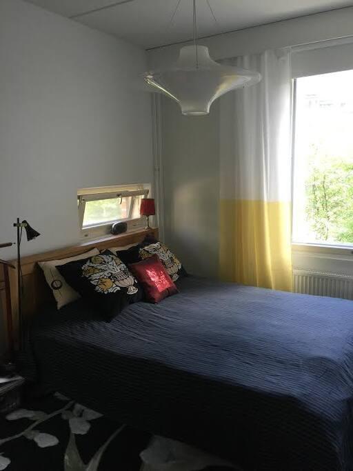 Large bedroom nr 1 - makuuhuone