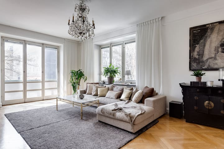A 5 Room apartment in city center of Stockholm. - Sztokholm - Apartament