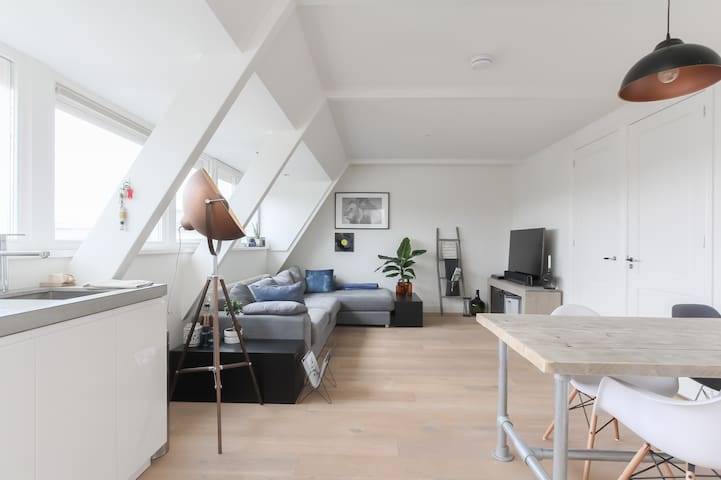 Modern & luxury rooftop appartment near centre!