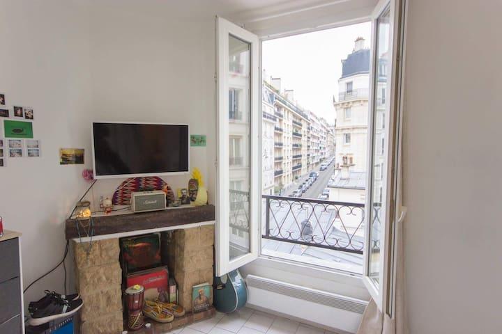 La buena onda de Jaurès - Paris - Apartment