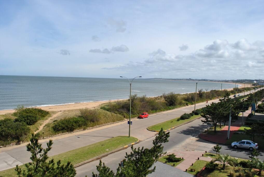 Vista desde terraza a Punta Ballena