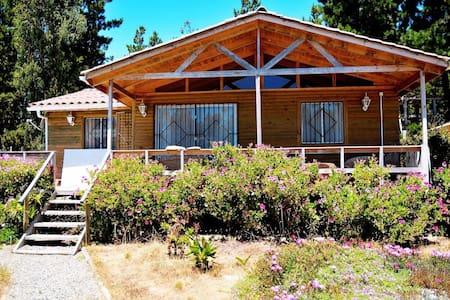 Casa en el bosque en Laguna Verde, Valparaíso