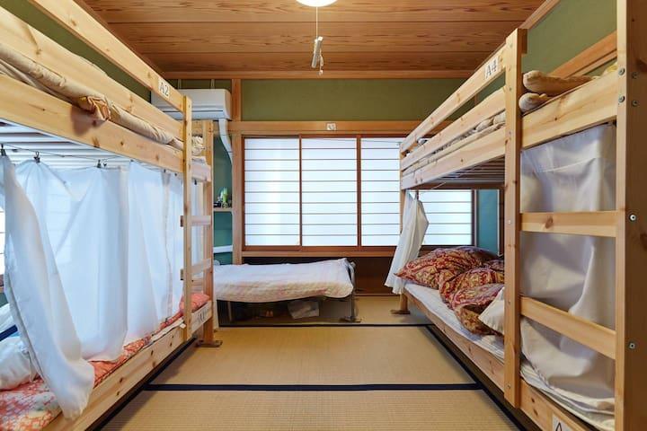東京浅草/传统风格房子/ 7min Train/Clean House Asakusa Tokyo!