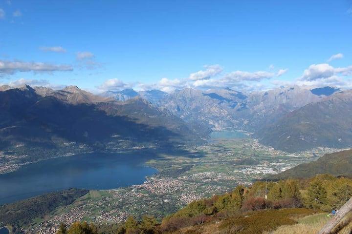 Casa vacanze sul lago di Como e Valtellina
