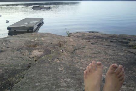 Örnäs by lake Gapern,Skattkärr,Karlstad - Casa