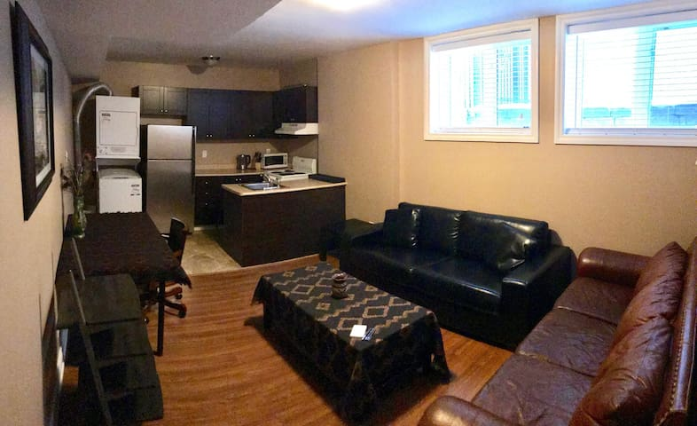 Furnished basement unit in Central Mississauga - Mississauga - Huoneisto