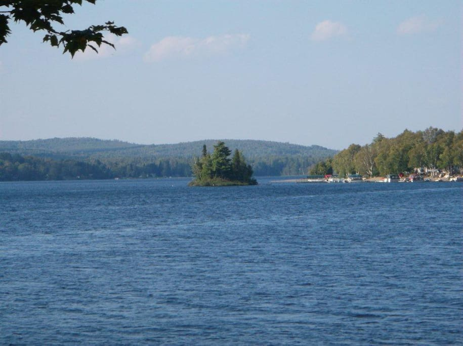 Beautiful view of Eagle Lake!