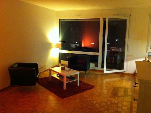 CENTRE: Modern Single/Double Room - Genewa - Apartament