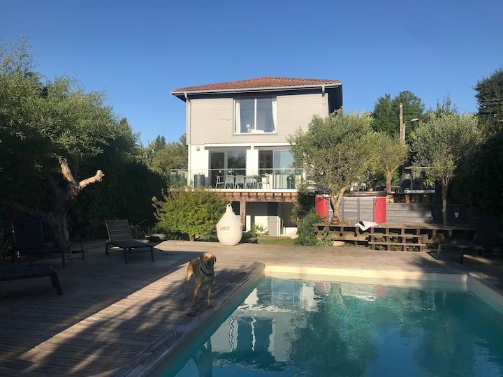 Chambre chez l habitant avec piscine et Jacuzzi