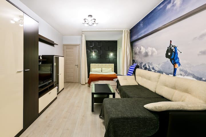 Nice and cozy bussiness class flat in Khamovniki