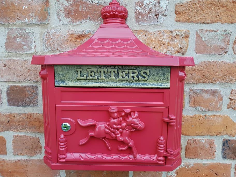 Decorative postbox