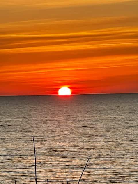Spectacular Sunrises at Lake Huron Cottage!