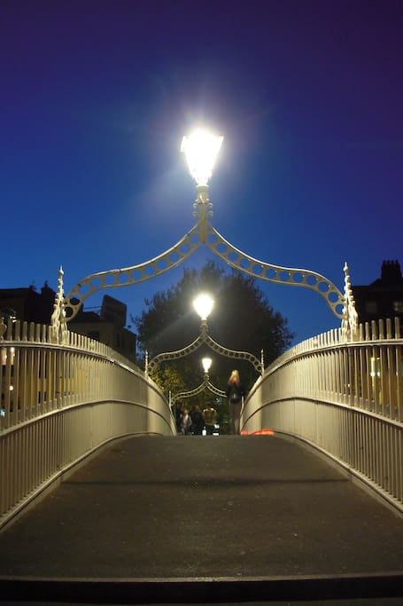 Dublin's Haunted Ha'penny Bridge...
