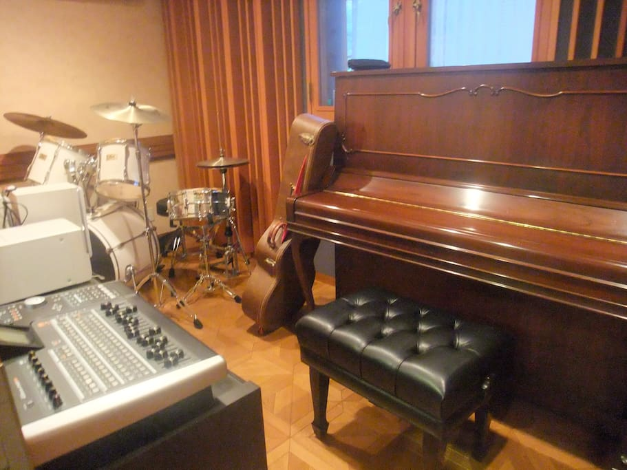 Music studio only for professionals