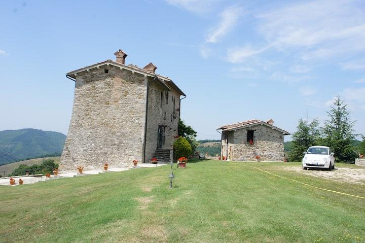 Palazzo Scagliae Castle Gubbio Huge