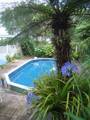 In summer you can enjoy our pool, which is adjacent to Tresillian House.