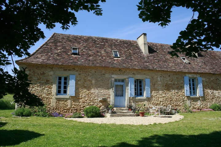 Authentic Dordogne Family FarmHouse - Saint-Jean-d'Eyraud - Huis