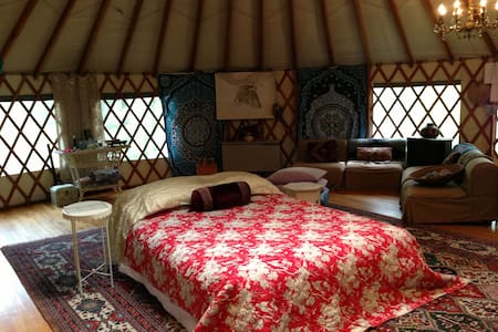 Woodstock YURT--Healing/Art Studio - Bearsville - Yurt
