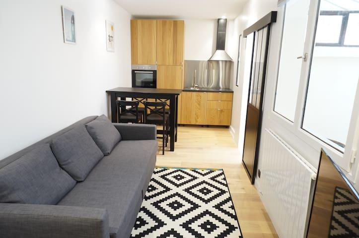 Lovely flat 4p in Gaité-Montparnasse