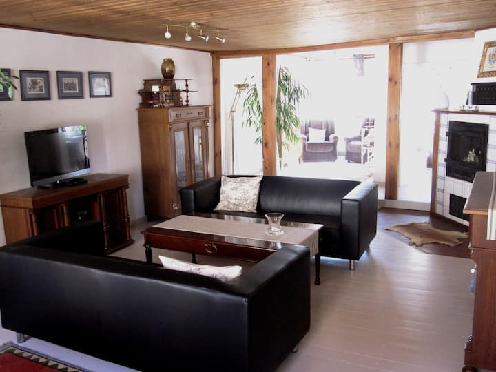 Company flat in the health resort-princely customs