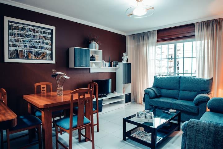 Apartament on Sanxenxo at Silgar beach
