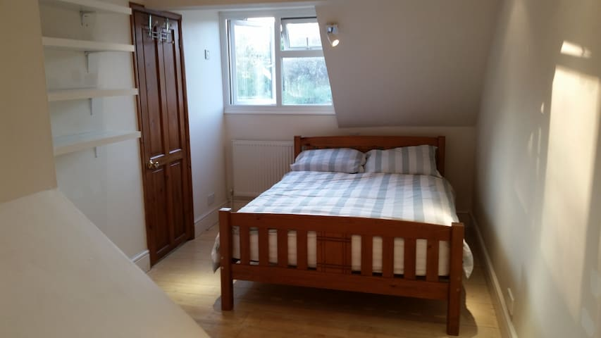 Double bedroom in Victorian house