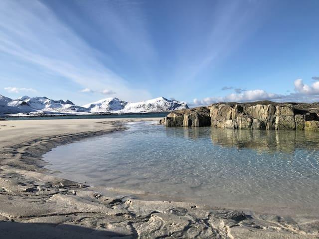 Fjellheimen utleie, Lofoten - Ramberg - Flat