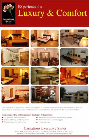 Carnations Suites Islamabad