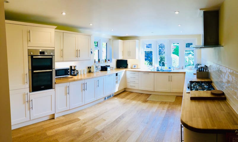 Bright, spacious and beautifully finished kitchen