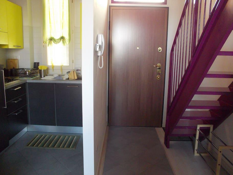 Entrance vs. Kitchen