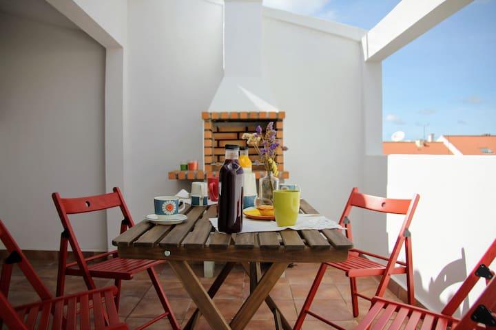 Vila Mafra - Grill terrace