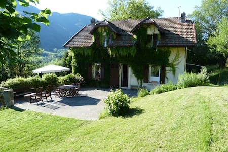 House with Annecy lake view - Bluffy