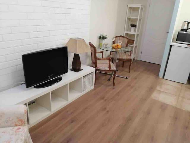Уютная квартира-студия ждет гостей