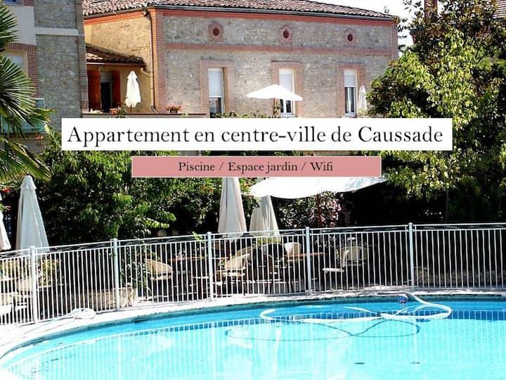 ** Charmant appartement au cœur de Caussade **