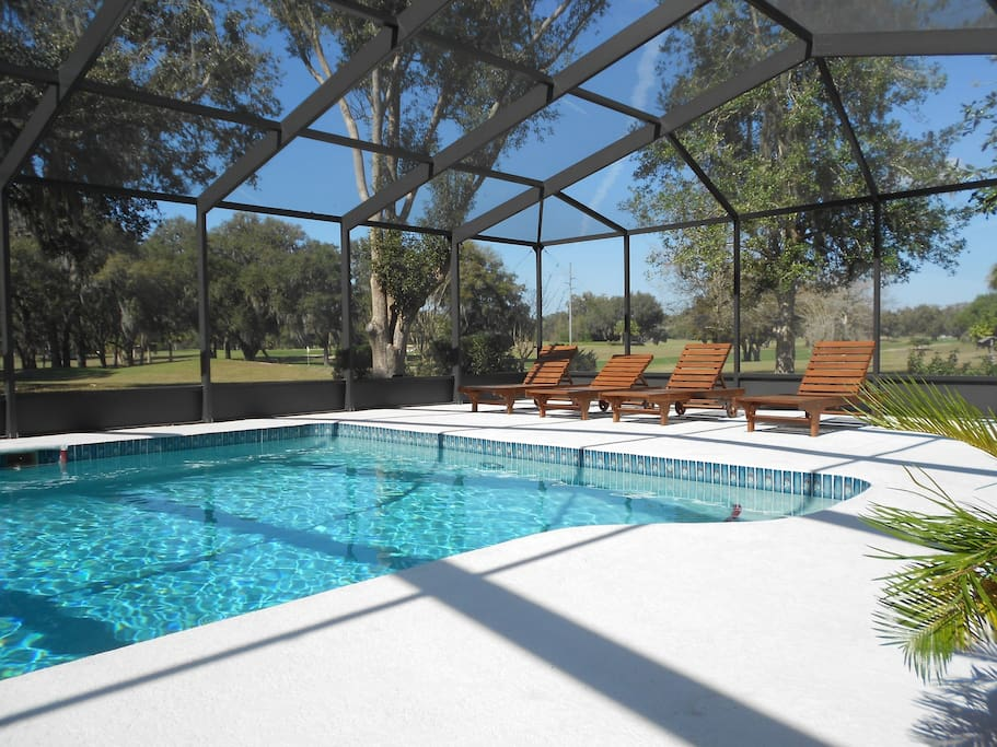 Golf View Villa With Stunning View Houses For Rent In Inverness Florida United States