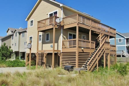 Airy 5BR Outer Banks House w/Wifi - Corolla