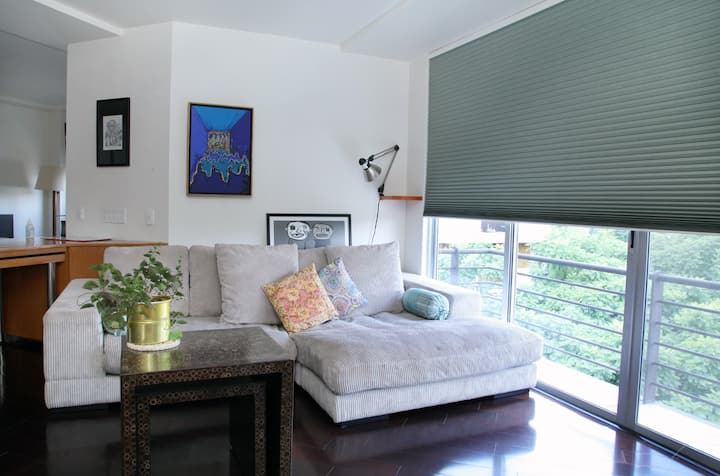 SPOTLESS beautiful sunny loft in Del Valle