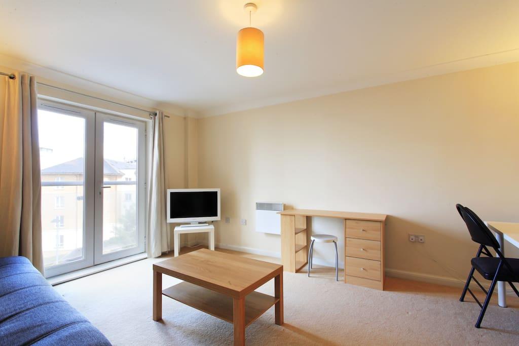 Apartment 16 Living Room