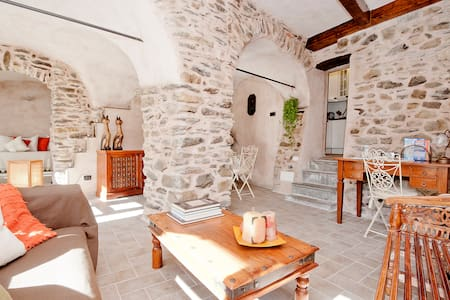 North Tuscany, dreamy stone retreat near 5 Terre - Fornoli - Departamento