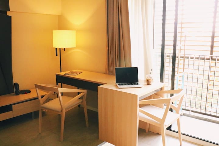 Luxury1BR-C@Asok&NaNaBTS/KingBed【24hCheck in】2~4P