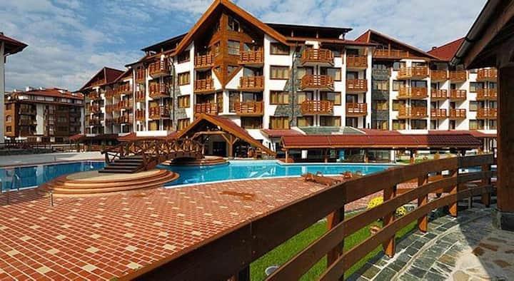 Belveder Holiday Club, ski resort 4* H46 - Bansko