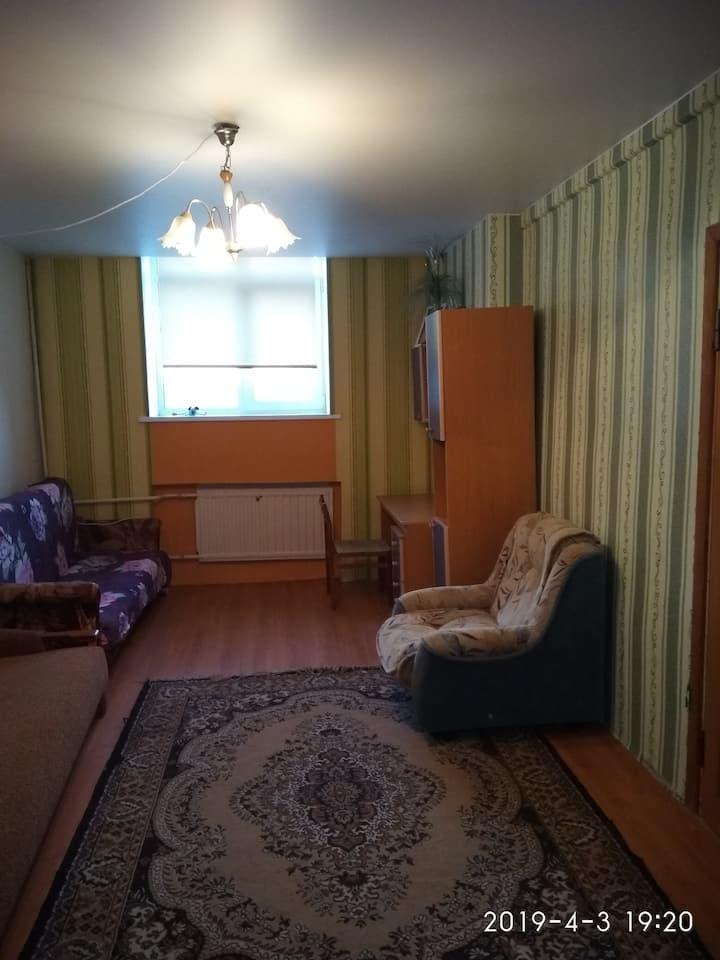Недорогая и уютная квартира недалеко от Петербурга