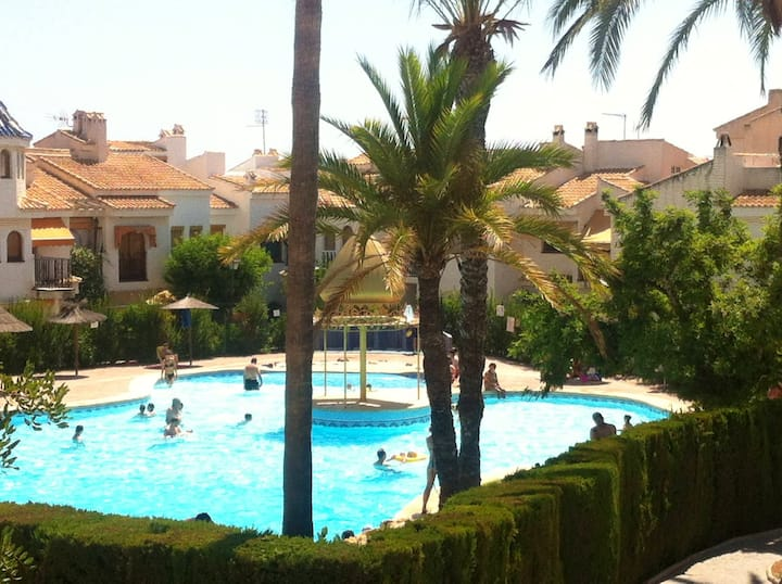 House with 3 bedrooms in Port Marí, with wonderful sea view, shared pool, terrace - 600 m from the beach