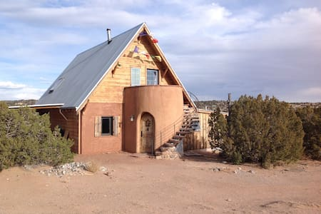 Magical passive solar adobe casita - Abiquiu - Hus