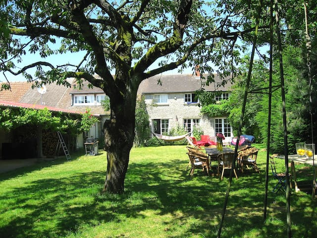 Charming house 70 km from Paris -  Nangeville - Rumah